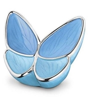 Messing Mini-Urne Butterfly;